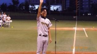 選手宣誓:東北学院大学 遠藤主将