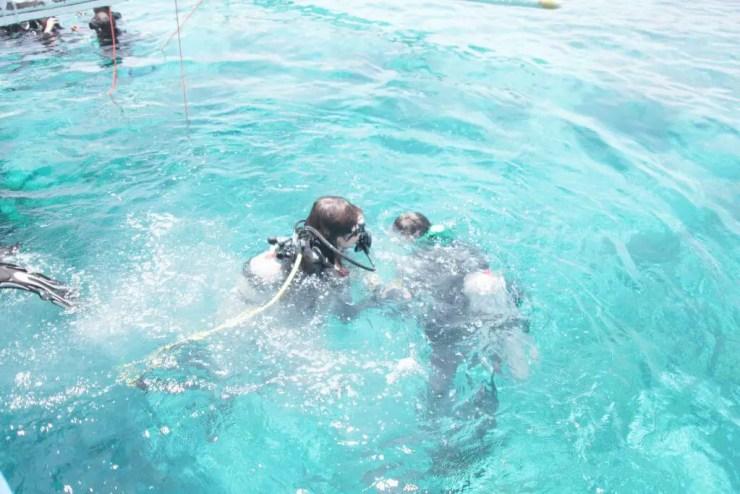 ヒルトゥガン島、セブ島の観光体験ダイビング