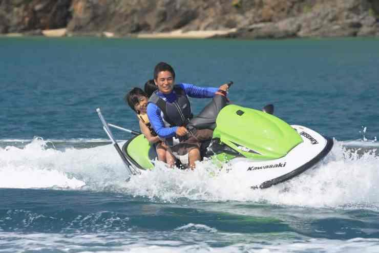 ジェットスキー、セブ島の観光マリンスポーツ