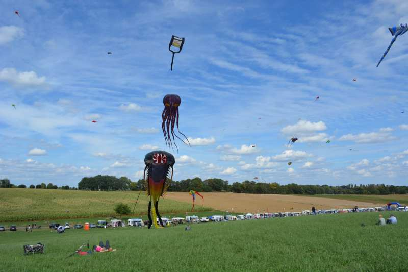39th kitefestival of Oirsbeek 2018