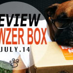 #REVIEW @BowzerBox July box has us at #WOOF! They are Canadian EH!
