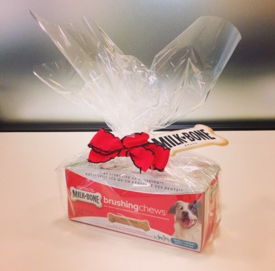 #BrushingChews prize from Milk-Bone Canada
