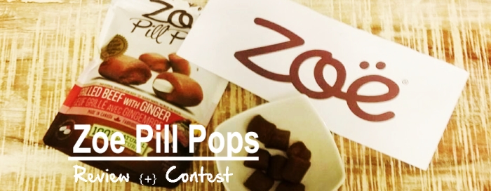 Review Zoe Pill Pops and Contest
