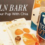 Supper Food for Dogs: Chia and @LincolnBark Dog Treats