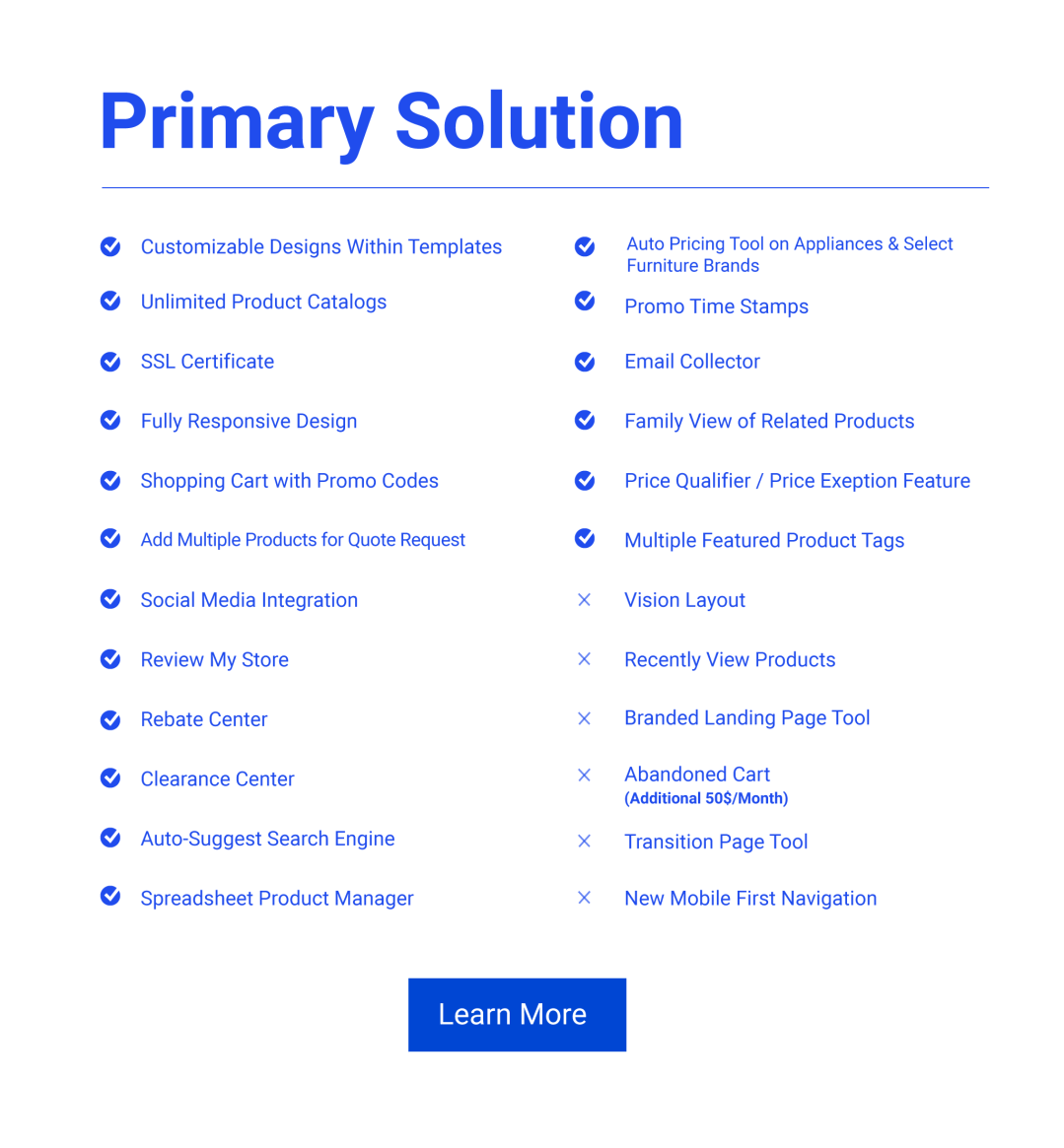 Solution Web Primary