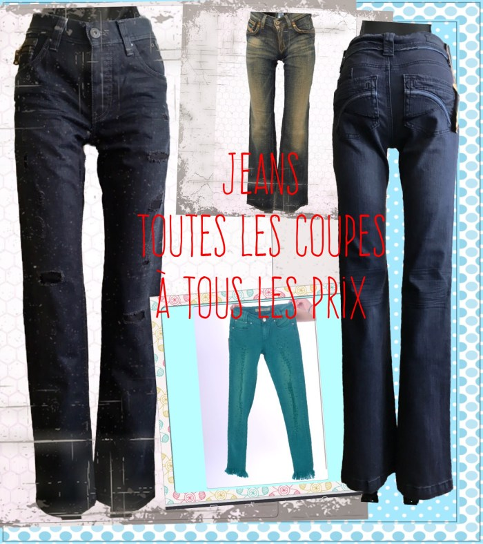 Jeans tailles 32/34