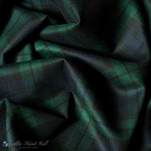 Green Tartan Wool Fabric from Tailor Box