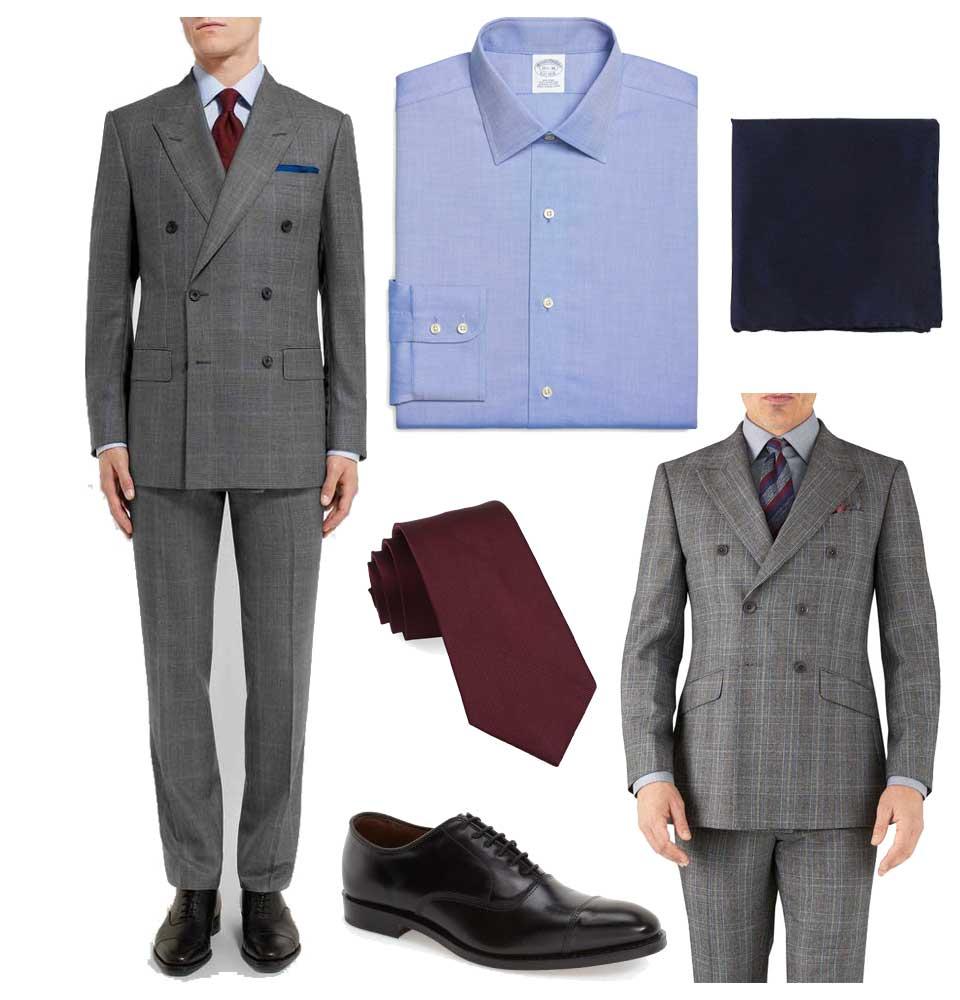 A less expensive version of a Kingsman style suit