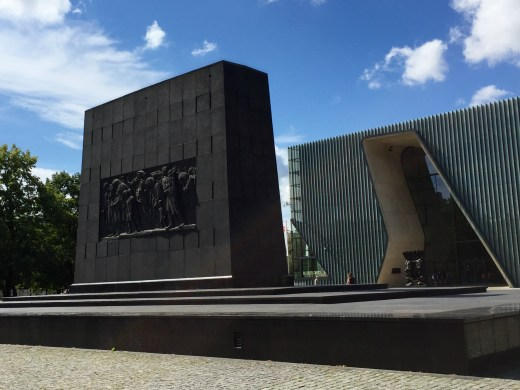 Warsaw: Monument to the Ghetto Heroes