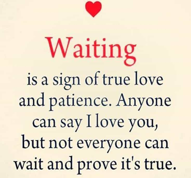 cute waiting quotes