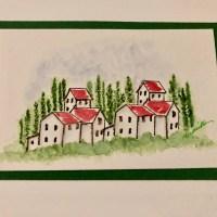 Tuscany note card
