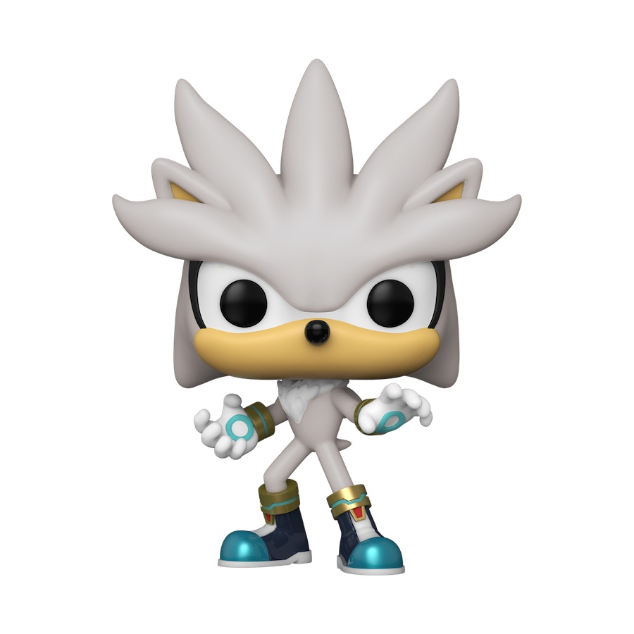 An image of a Silver Funko POP!