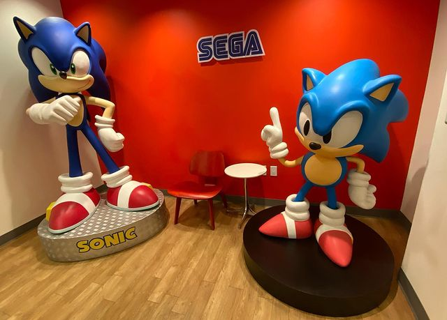 A picture of the SEGA of America offices.