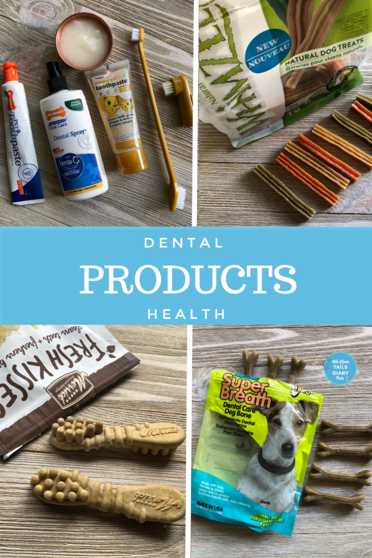 There are many products for dog dental health