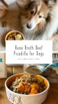 Bone Broth Beef Picadillo For Dogs an easy recipe for pets