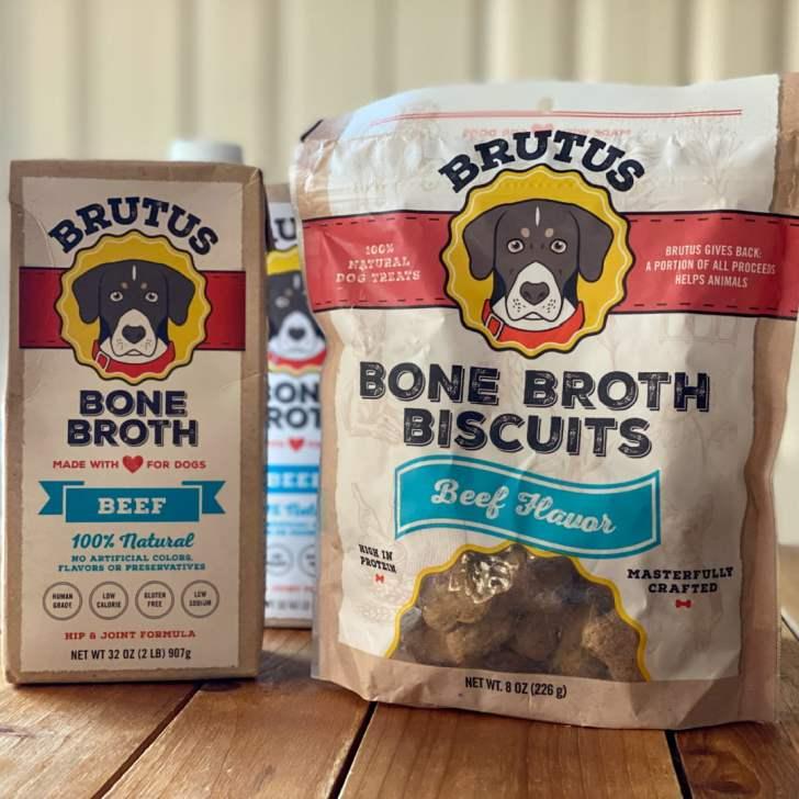a bag of dog treats beef flavor
