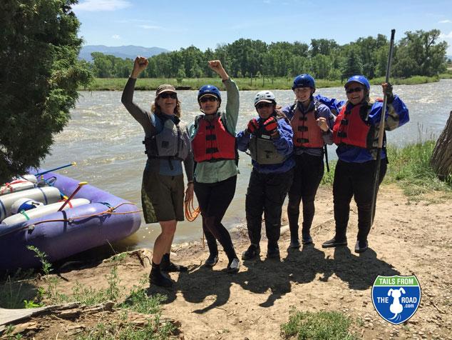 The Raft Betties!
