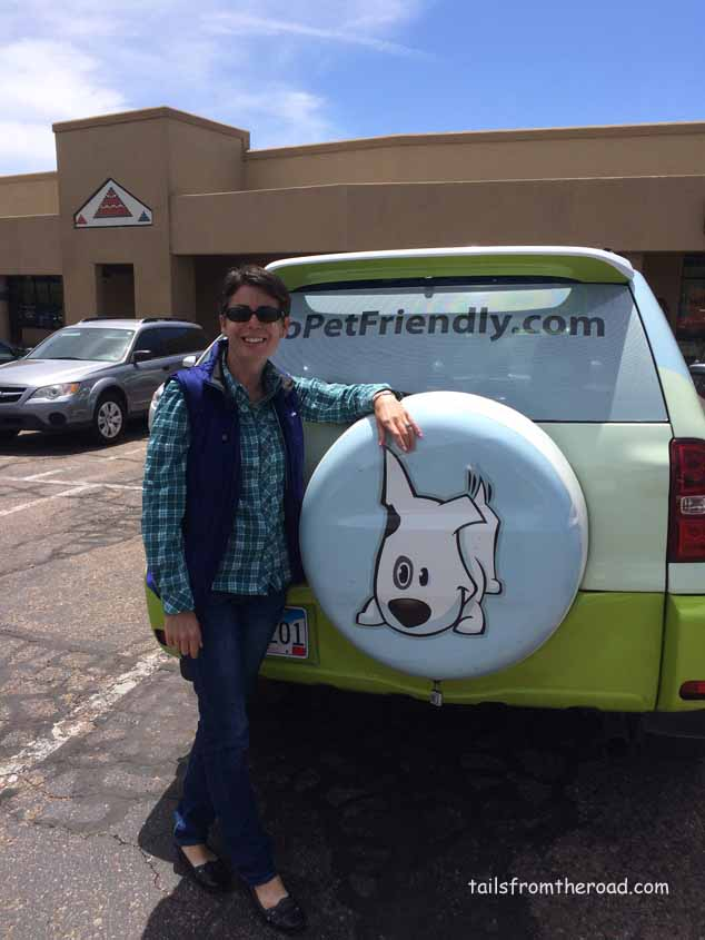 Amy from gopetfriendly.com, so fun to know other fulltime RVers.