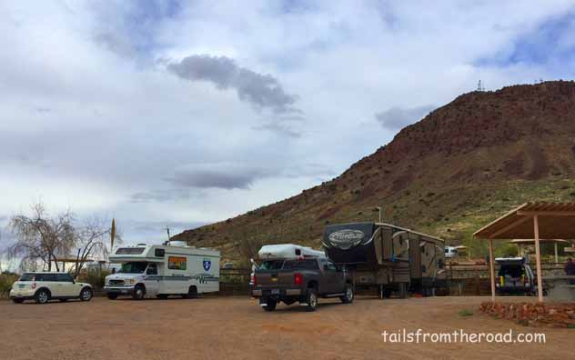 Group Campground, holds 4 rigs with water/electric