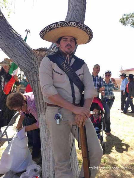 Pancho Villa with keys!