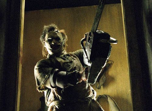 Leatherface in 'Texas Chainsaw Massacre' 2003