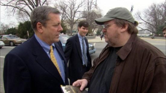 Michael Moore in 'Fahrenheit 911'