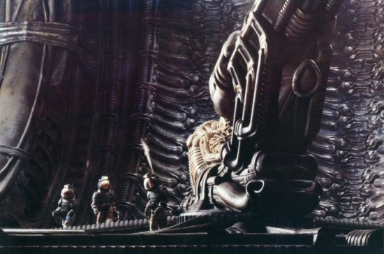 'Alien' and the Space Jockey.