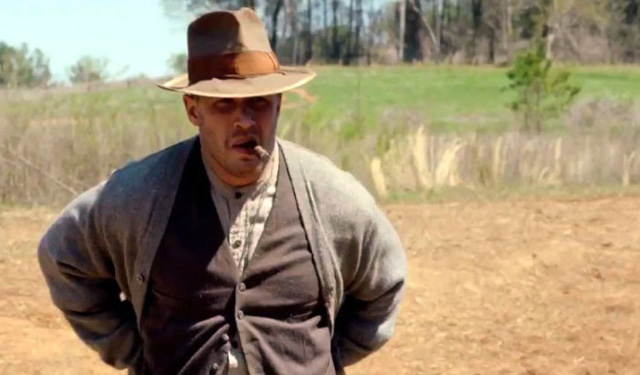 Tom Hardy in 'Lawless'