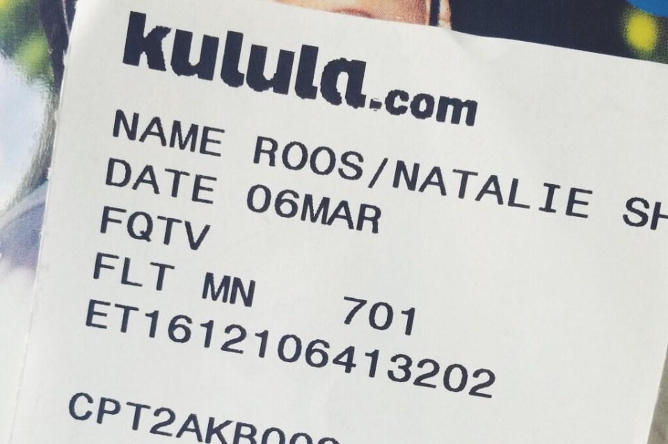 Natalie Roos travel