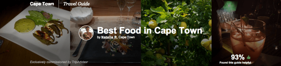 Best Food in Cape Town