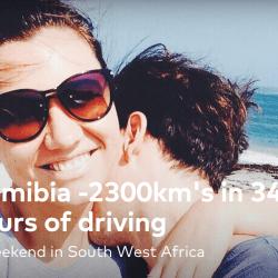 Road trip Namibia