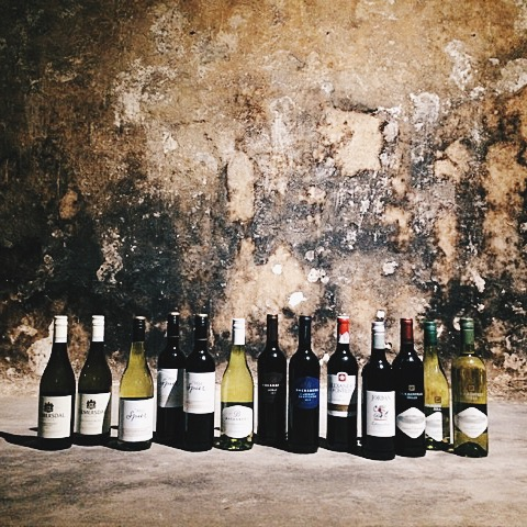 Wines from Spier, Durbanville Hills, Alexanderfontien, Backsberg, Diemersdal and Jordan.