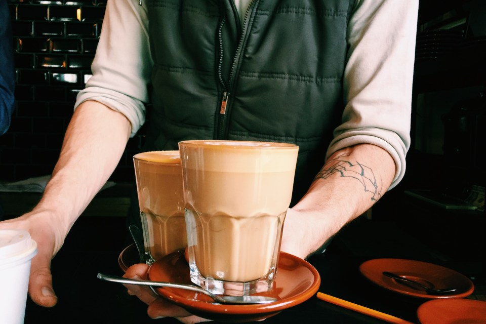 The best coffee in Stellenbosch at Deluxe