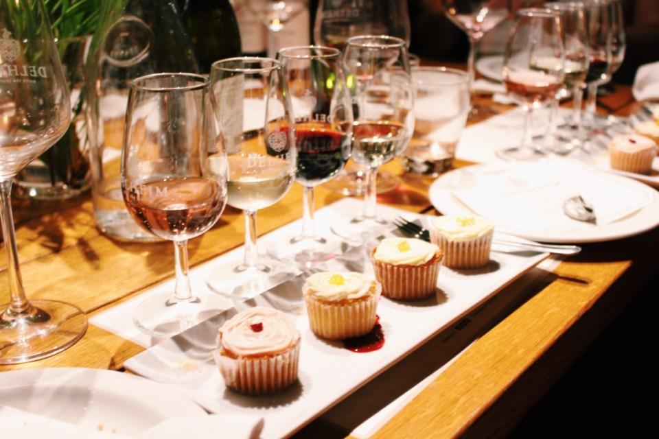 Cupcake & Wine Pairing at Delheim