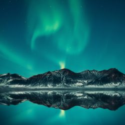 how to shoot northern lights