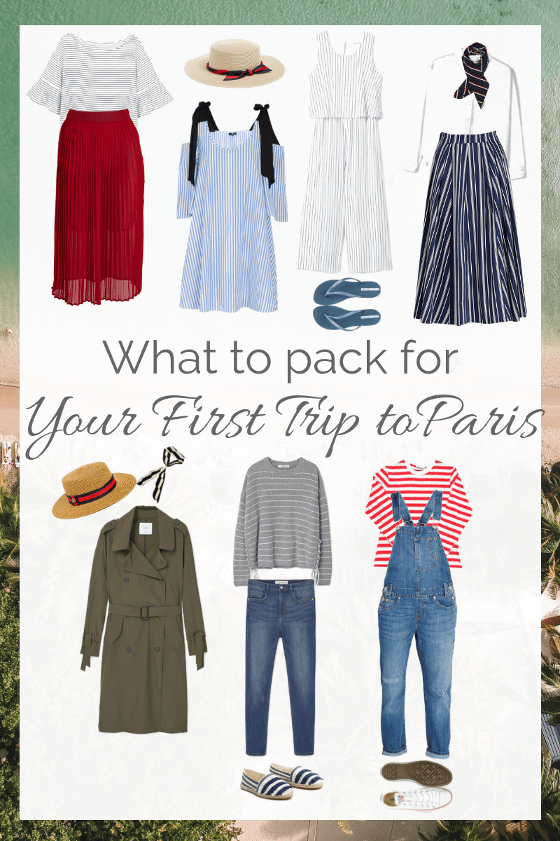 what to pack for a boating holiday in france