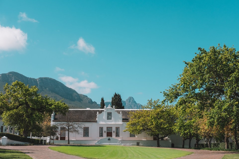 lanzerac hotel and spa stellenbosch