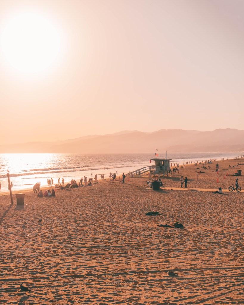 santa Monica pier Los Angeles california usa