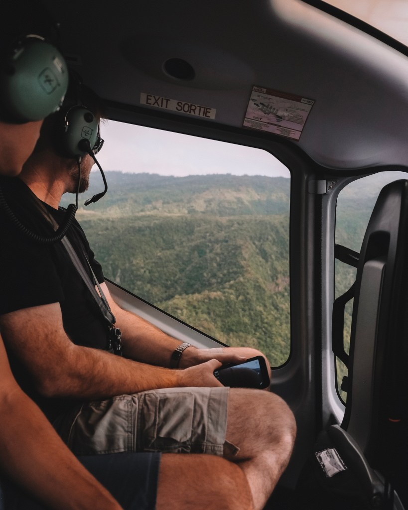 corail helicopter flight reunion island