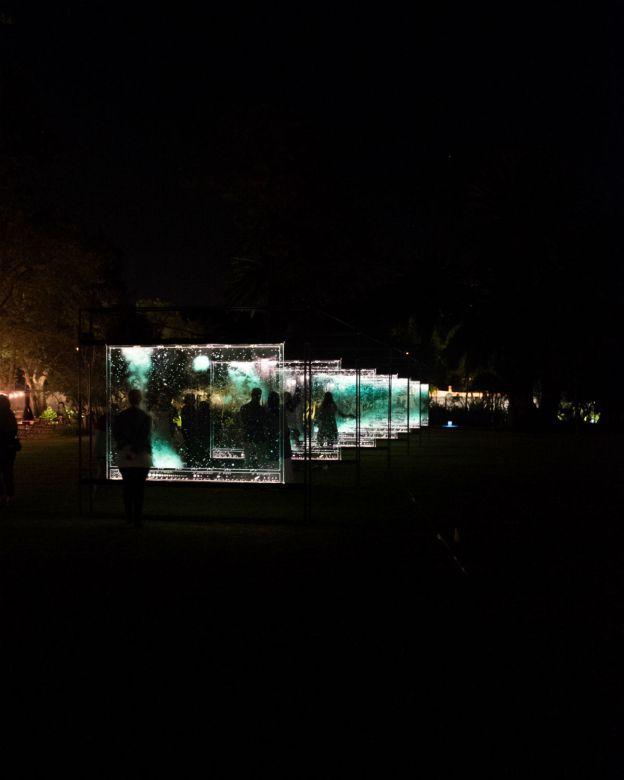 spier light art festival 2018
