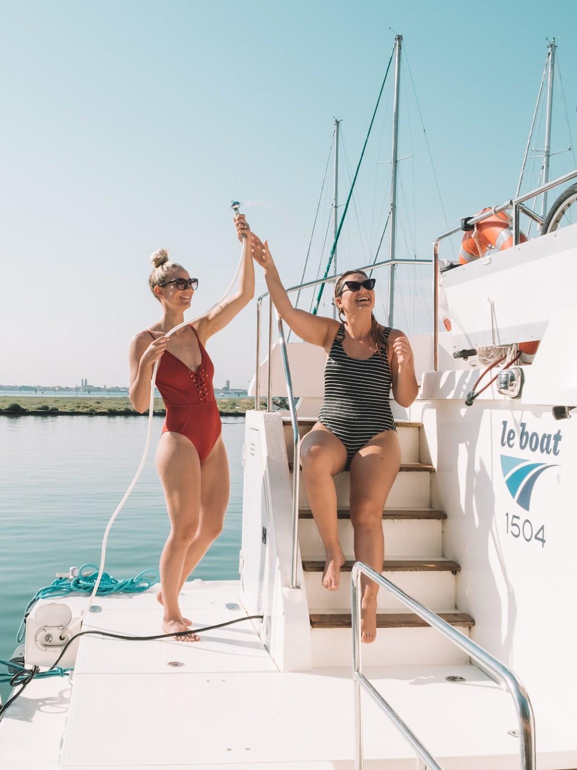 venice houseboat holiday leboat