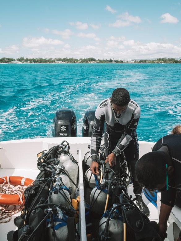 dodo divers padi scuba mauritius indian ocean