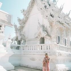 Wat Rong Khun temple Chiang Rai Thailand