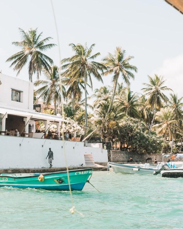 peponi hotel restaurant shela lamu island kenya