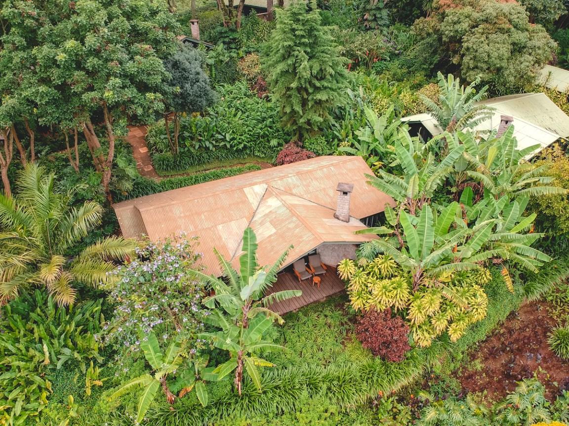 gibbs farm tanzania cottage view