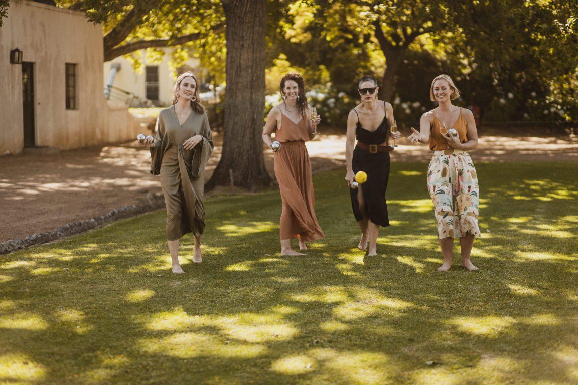 Natalie Roos Keenan Mulvaney Wedding Pre-Drinks Boschendal