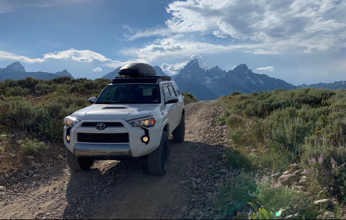 Toyota 4Runner in Grand Tetons