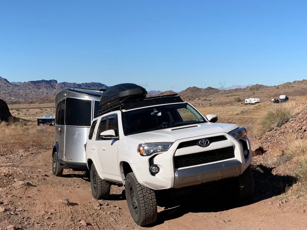 Toyota 4Runner Gobi Rack Airstream Basecamp