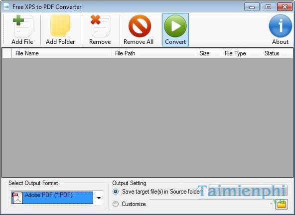 Free XPS to PDF Converter -Download- Tải về - Đổi đuôi XPS ...