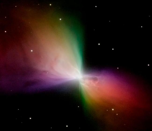 Туманность Бумеранг. Снимок телескопа «Хаббл» Фото: NASA
